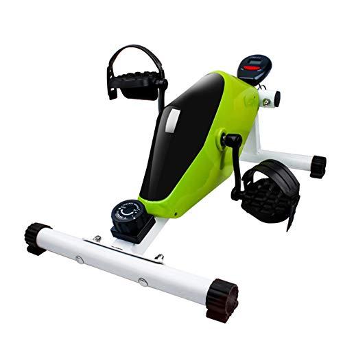 RUIVE Ejercicio Magnético Bicicleta Estática Ejercitador De Pedal Liso Y Silencioso con Monitor LCD Multifuncional, Entrenamiento De Brazos Y Piernas