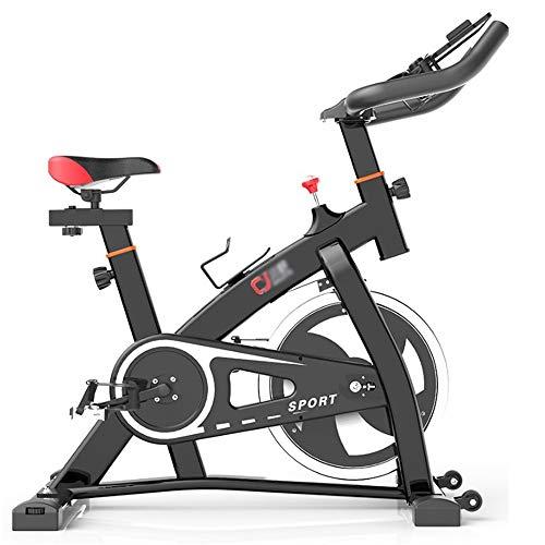 HO-TBO Esercizio di Bicicletta, Indoor Muto Cyclette Interni Cyclette Attrezzature for Il Fitness Godersi l'esperienza in Palestra a casa (Color : Black, Size : One Size)