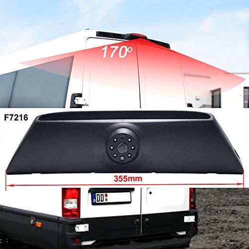 Transporter Van HD Couleur Caméra de Voiture Vision Nocturne IR Grand Angle de 150-170 Degrés Imperméable,Lumière de Frein Caméra de Recul pour Fiat Daily 4 Gen 2011-2014