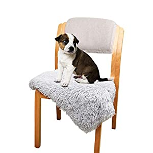 Dog Cat Bed Fleece Blanket Cover for Pets, Fluffy Shag Dog Pet Throw Blanket for Small, Medium Dogs, Cats, Multiple Use for Couch Protection, Dog Bed, Sofa and Car Backseat