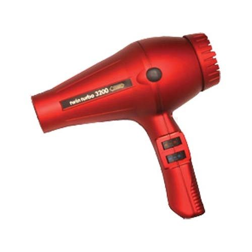 Turbo Power Twin Turbo 3200 Professional Dryer - Red