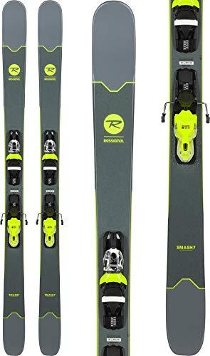 Rossignol Smash 7 Herren Skier mit 10 Bindungen, Herren, schwarz/gelb, 160cm