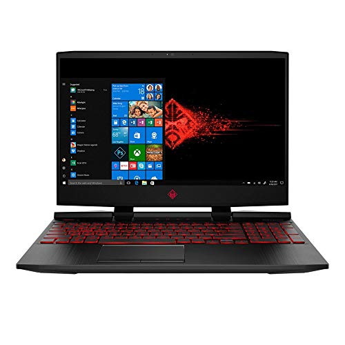 "HP OMEN 15-dc1054nr 15.6"" Gaming Laptop - Black,..."