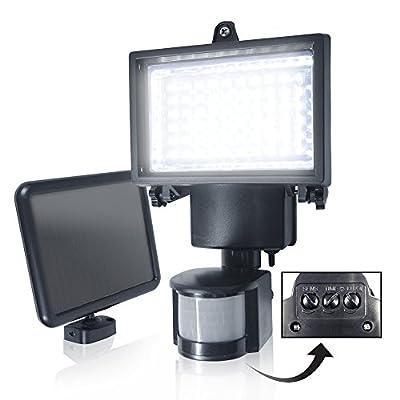 ETOPLIGHTING Super LED Solar Motion Light Outdoor Waterproof Garden Lamp Ultra Bright Detector Security Light, APL1273