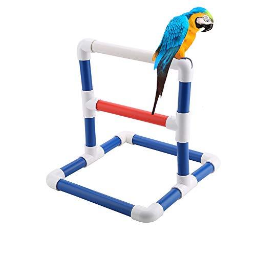 Soporte para Entrenamiento de Loros Pájaro para Mascotas Mesa para Perca Soportes...
