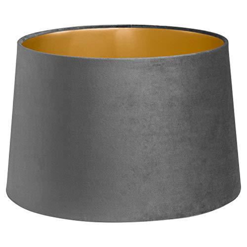 Tischlampe/Deckenleuchte, 40 cm, Samt Smoked Grey