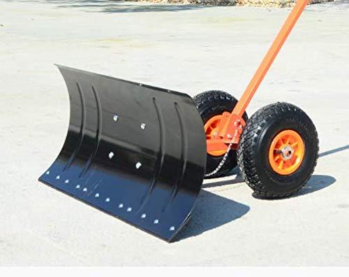 Eisenplatte Rad Schneeschaufel/Auto Schaufel Schneebrett Schneeentfernung Werkzeug Schnee fegen