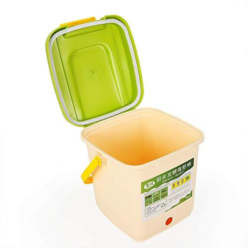 OUKANING 9L Abfalleimer Komposter Luftige Komposteimer Bokashi Balls Eimer Küche