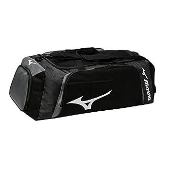 Mizuno Tornado Duffle Bag Black/Grey  L  26  x  W  14  x  H  14