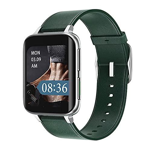 zyz DT93 Smart Watch 1.78 Pulgadas 420 * 485 HD, Rastreador De Fitness, Ritmo Cardíaco Y Monitoreo De Presión Arterial Reloj Bluetooth,Verde