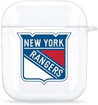 New York Rangers Apple Bluetooth Silicone Earphone Case Suitable for Apple AirPods 1 2 Generation product image