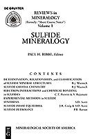 Sulfide Mineralogy (Reviews in Mineralogy & Geochemistry)