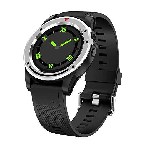 LRHD Smart Watch Men Support SIM TF Tarjeta Cámara Bluetooth Call Play Play Música Impermeable Deporte Smartwatch para Android iOS Fitness Tracker SmartWatch Sport Smart Pulsera SmartWatch