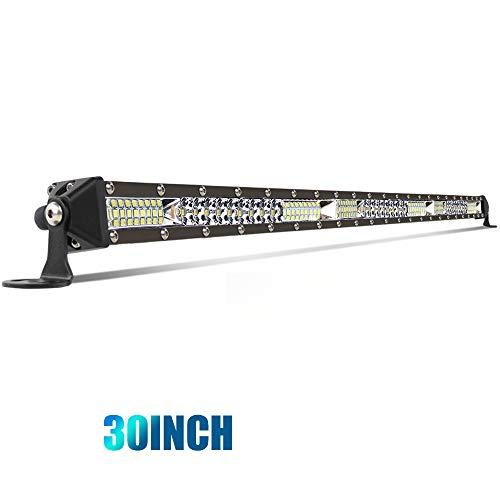 30 inch Led Light Bar Single Row Slim Driving Lights Flood Sopt Combine Beam Thin Fog light off road LED Light bar