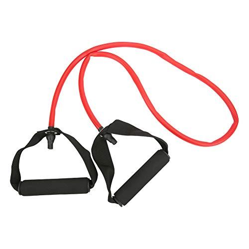 Tubo De Resistencia De Látex Ranurado con Elasticidad De Yoga, Equipo De Fitness con Cinturón De Tracción Multifunción para Perder Peso