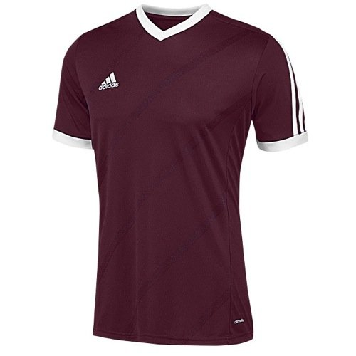 Adidas Big Boys Climacool Regista 14 - Camiseta de fútbol - F50282, S, Granate claro/Blanco