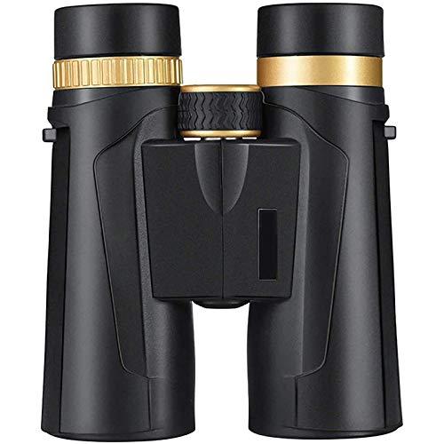 Prismáticos de 10 x 42, potentes, compactos y potentes, profesionales de largo alcance con prismas BAK4 y lente FMC