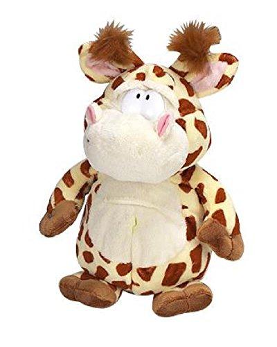 Biembi Peluche Giraffa 25 cm. Serie Wild Podgeys Keel Toys *07833