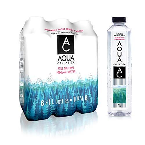 AQUA Carpatica Natural Still Mineral Water Virtually Nitrate Free 6 X 1...