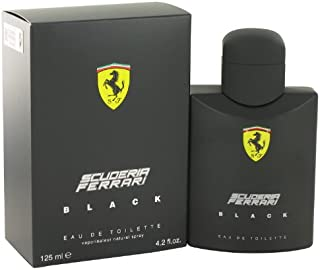 Ferrari Scuderia Black by Ferrari - Men - Eau De Toilette Spray 4.2 oz