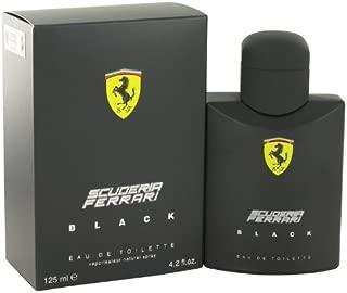 Ferrari Scuderia Black by Ferrari Eau De Toilette Spray 125 ml for Men