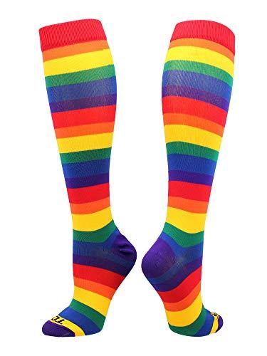TCK Krazisox Rainbow (Multicolor, Small)