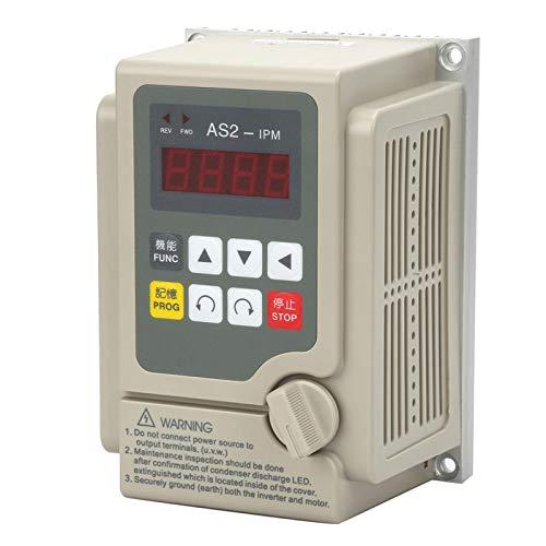 Entrada monofásica/salida trifásica 220 V convertidor de frecuencia variable convertidor de controlador de velocidad inversor para motor de 0,75 kW