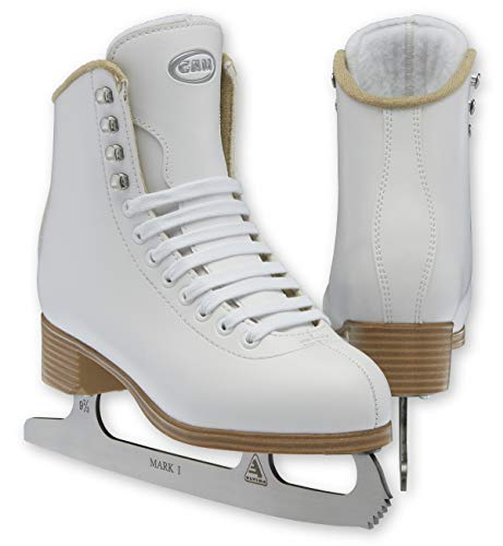 Jackson Ultima GAM G0101 Stella Girls White Figure Ice Skates - Kids 1