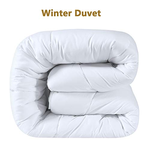 Duck & Goose Warme Winterdecke Duo-Steppbett Duo Bettdecke 200 x 220 cm