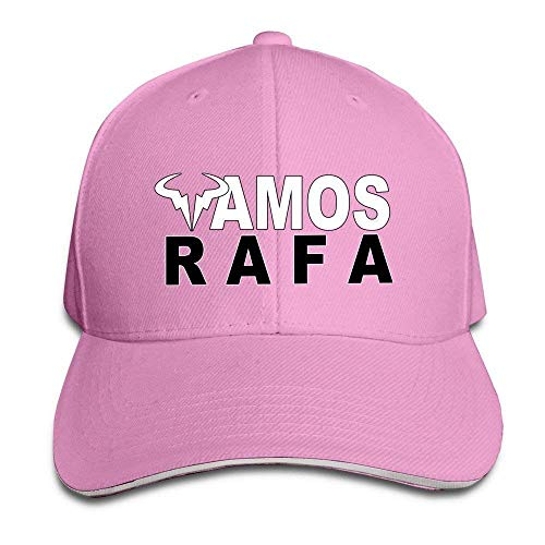 Zcfhike Gorra Gorro con Logo de Rafael Nadal Rafa Vamos Ceniza ...