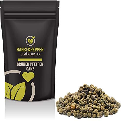 500g Grüner Pfeffer Ganz natürlich vom Hanse&Pepper Gewürzkontor