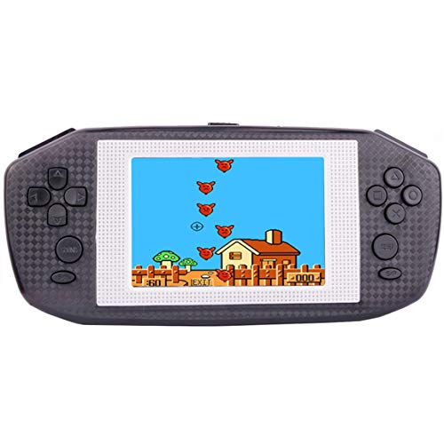 "Beico Handheld Games for Kids Adults 3.5"" Large Screen Built in 416 Classic Retro Video Games Seniors Electronic Games Consoles Birthday Present (Black)"