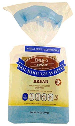 ENER-G FOODS   Bread-Sourdough White - 14 Oz [Gluten Free] [New Item!] [1 Pack]