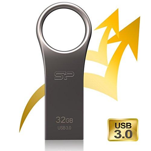 『シリコンパワー USBメモリ 32GB USB3.0 防水 防塵 耐衝撃 亜鉛 合金デザイン 永久保証 Jewel J80 SP032GBUF3J80V1TEJ』の2枚目の画像