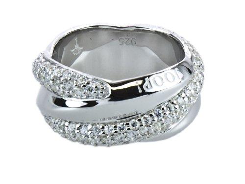 Joop! Damen-Ring 925 Sterling Silber Gr. 53 (16.9) JPRG90452B530