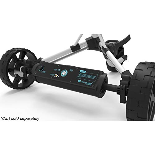 Club Booster E-Wheels – Convert Your Push Cart into an Electric Remote-Controlled Golf Caddie...