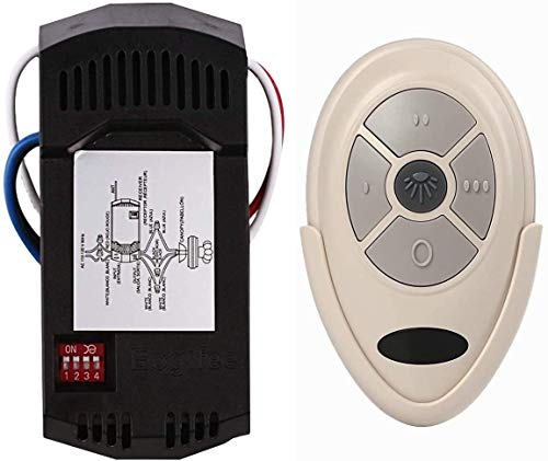 YOUZIY Ceiling Fan Remote Control Replacement of Harbor Breeze ...
