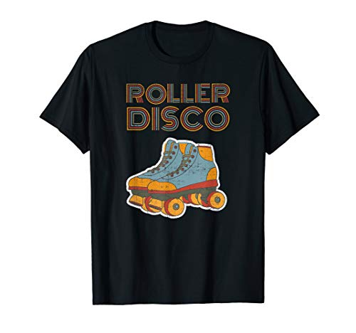 Roller Disco Cooles Vintage Retro 70er und 80er Party T-Shirt