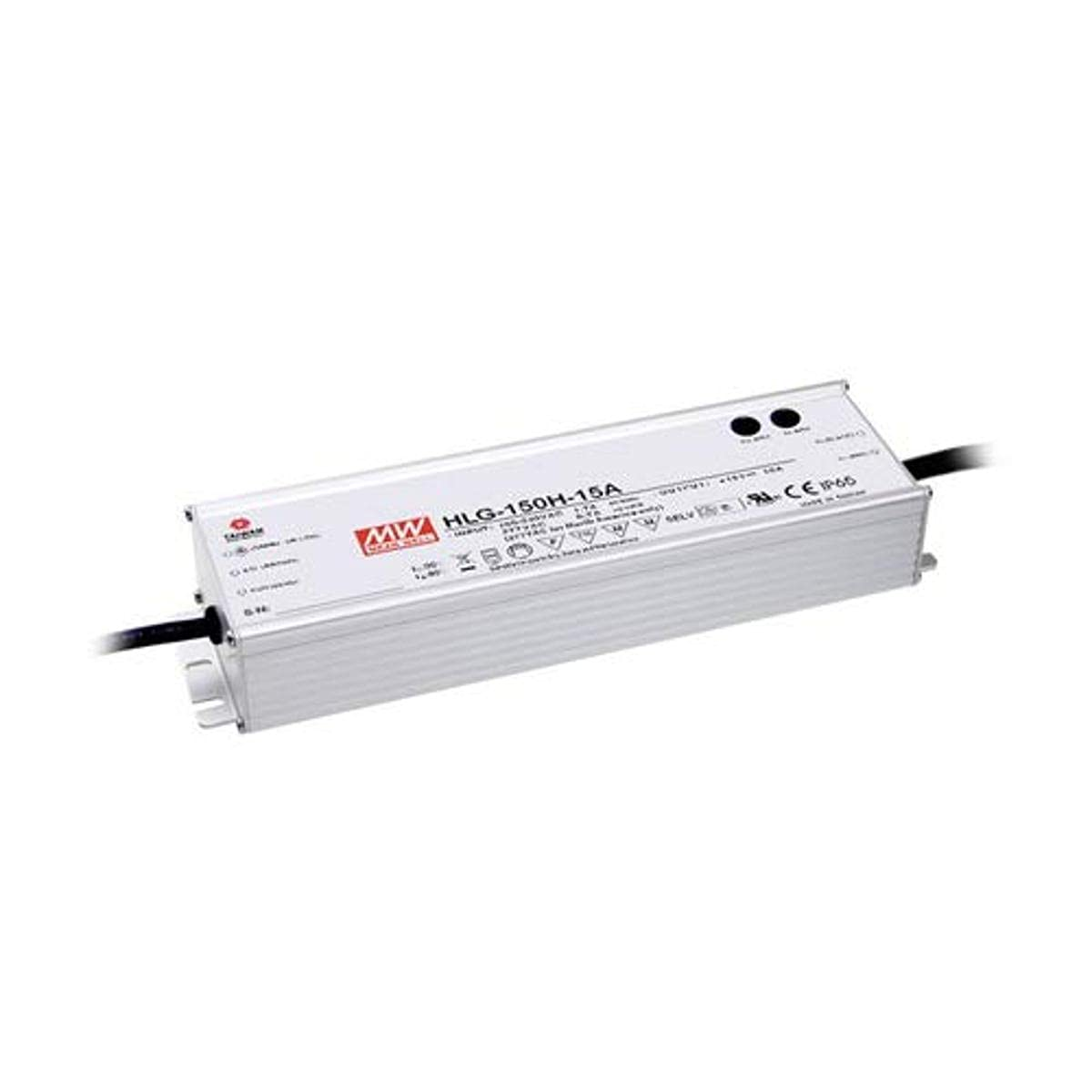 MEAN WELL LED Driver Switching Power Supply, 150W 48V 3.2A - HLG-150H-48A