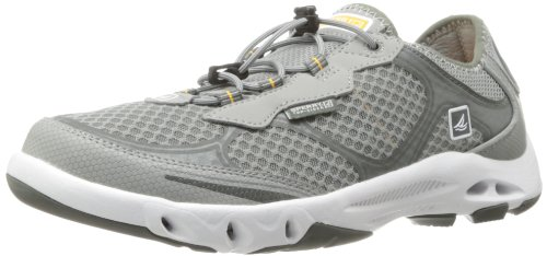 Sperry Men's H2O Escape Bungee Boat Shoe,Grey,11 M US