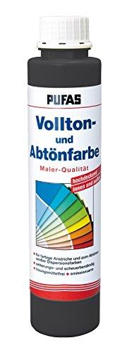 PUFAS Vollton- und Abtönfarben oxidschwarz 0,75 Liter