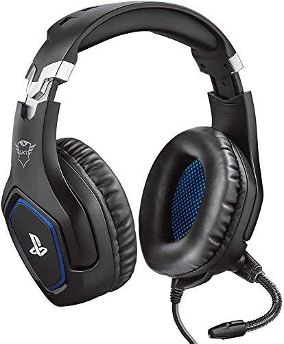 Trust Gaming Cascos PS4 y PS5 Auriculares de Gaming GXT 488 Forze, Licencia Oficial para...