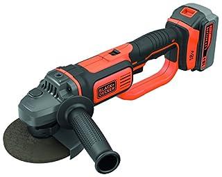 scheda black+decker bcg720m1-qw smerigliatrice angolare a batteria 125/115mm in softbag, arancio/nero