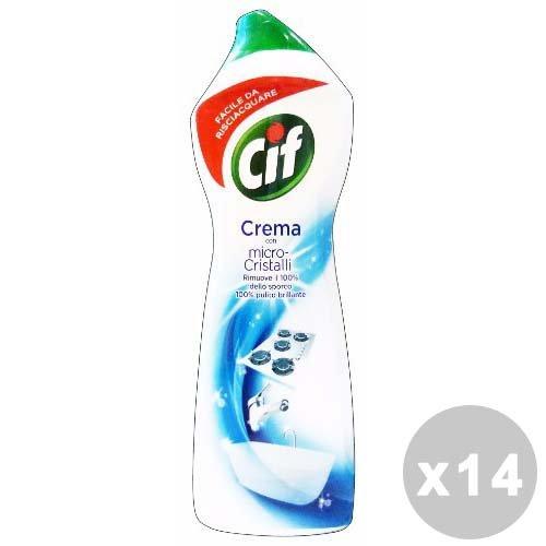 CIF Set 14 Crema Bianca 750 Ml. Detergenti casa