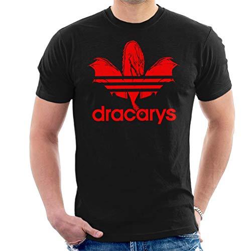 Dracarys Dragon Sports Logo Game of Thrones Men's T-Shirt