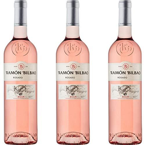 Ramon Bilbao Vino Rosado - 3 botellas x 750ml - total: 2250 ml