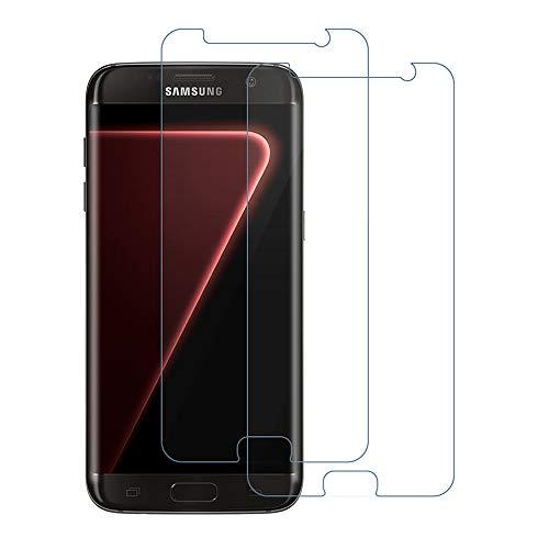 SIIYUTT Panzerglas Schutzfolie für Samsung Galaxy S7, 9H Härte, Ultra Kristallklar Gehärtetem Panzerglasfolie, Anti-Kratzen, Blasenfrei 2.5D Rand Displayschutzfolie für Samsung S7 [2 Stück]