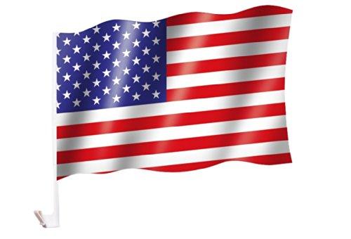 Autoflagge/Autofahne USA / Vereinigte Staaten von Amerika