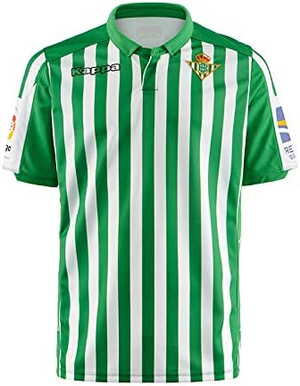Hombre Kappa 222 Banda 10 Aniet Retro Betis Camiseta
