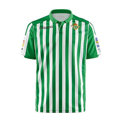 Kappa Real Betis Primera equipación 2019/20 camiseta futbol, talla S
